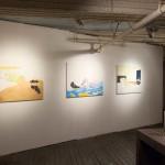 Old Room:Living Rooms organized by Josh Kline: Mieko Meguro three paintings of Dan Graham Feb-March 2015